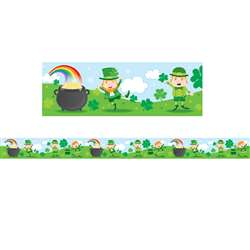 St Patricks Day Border Gr Pk-5, CD-108294