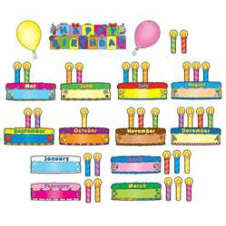 Birthday Cakes Mini Bulletin Board Set By Carson Dellosa