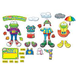 Weather Frog Bulletin Board Set Grade Pk-3 By Carson Dellosa
