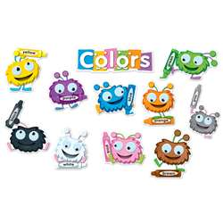 Color Critters Bulletin Board Set By Carson Dellosa