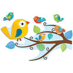 Boho Birds Bulletin Board Set By Carson Dellosa