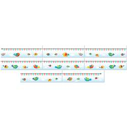 Boho Birds Number Line, CD-110260