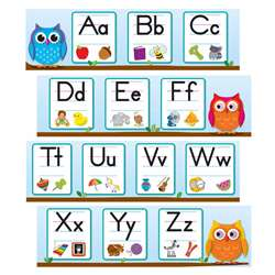 Colorful Owls Alphabet Grades, CD-110263