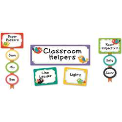 Boho Birds Classroom Management Bb Set, CD-110297