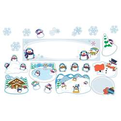 Winter Mini Bulletin Board Set, CD-110308