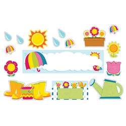 Spring Mini Bulletin Board Set, CD-110309