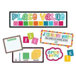 School Pop Place Value Bulletin Board Set, CD-110331