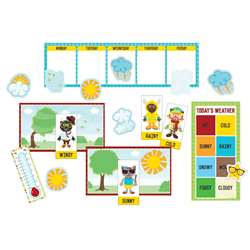 Hipster Weather Bulletin Board Set, CD-110339