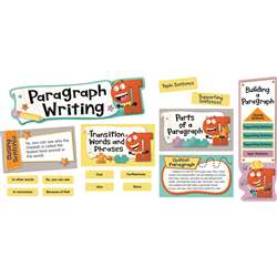 Paragraph Writing Mini Bulletin Board Set Gr 2-5, CD-110348
