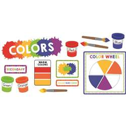 Colors Mini Bulletin Board Set Gr Pk-5, CD-110350
