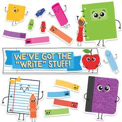 Weve Got The Write Stuff Bulletin Board Gr Pk-5 Mi, CD-110356