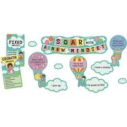 Soar With A New Mindset Bulletin Board Set Gr Pk-5, CD-110360