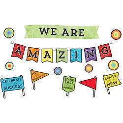 Celebrate Learning We R Amazing Bulletin Board Set, CD-110373