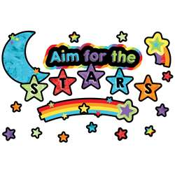 Aim For The Stars Mini Bulletin Board Set Celebrat, CD-110374