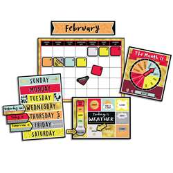 Aim High Calendar Bulletin Board Set, CD-110377