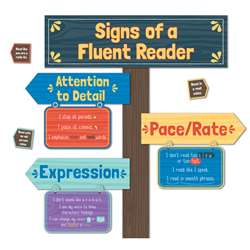Signs Of A Fluent Reader Mini Bulletin Board Set, CD-110384