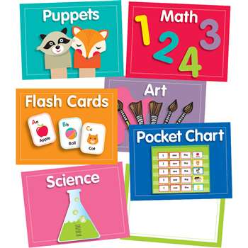 Just Teach Center Cards Mini Bulletin Board St, CD-110422