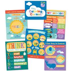 Calming Strategies Bulletin Board St, CD-110442