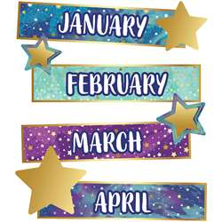 Galaxy Months Of The Yr Mini Bulletin Board St, CD-110451