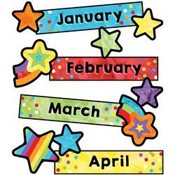 Months Of The Year Mini Bulletin Board St Celebrat, CD-110452