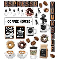 Espresso Yourself Mini Bulletin Board Set Industri, CD-110485