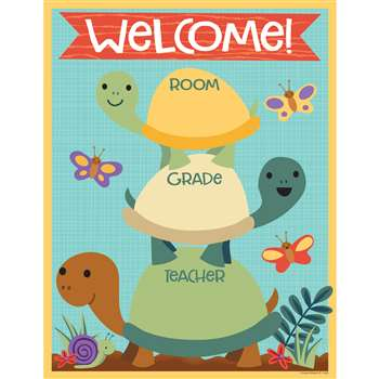 Nature Explorers Welcome Chart, CD-114242