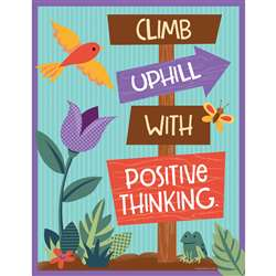 Climb Uphill Positive Think Chart Nature Explorers, CD-114245