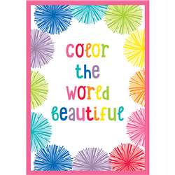 Color The World Beautiful Chart Hello Sunshine, CD-114263