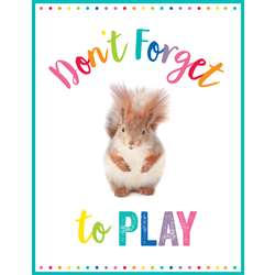 Don'T Forget To Play Chart Woodland Whimsy, CD-114271