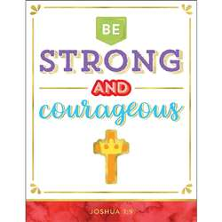 Be Strong And Courageous Chart, CD-114293