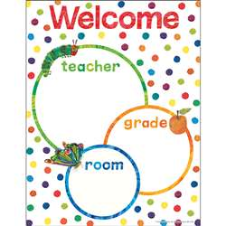 World Of Eric Carle Welcome Chart, CD-114301