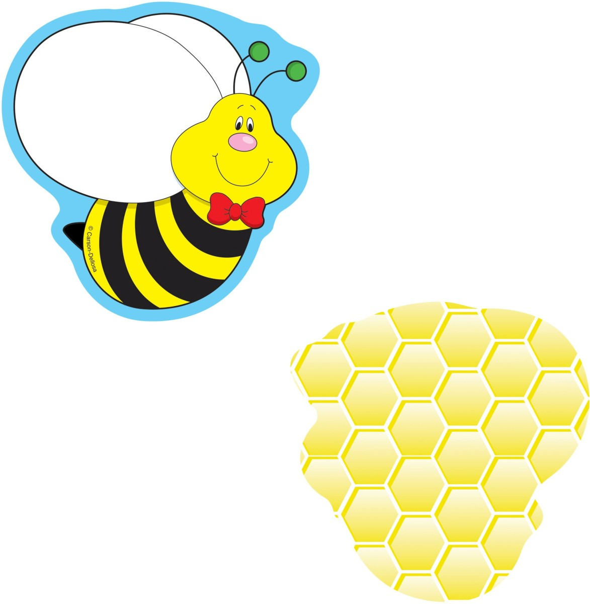Bees Mini Cutouts by Carson Dellosa: Accents: K12SchoolSupplies.net