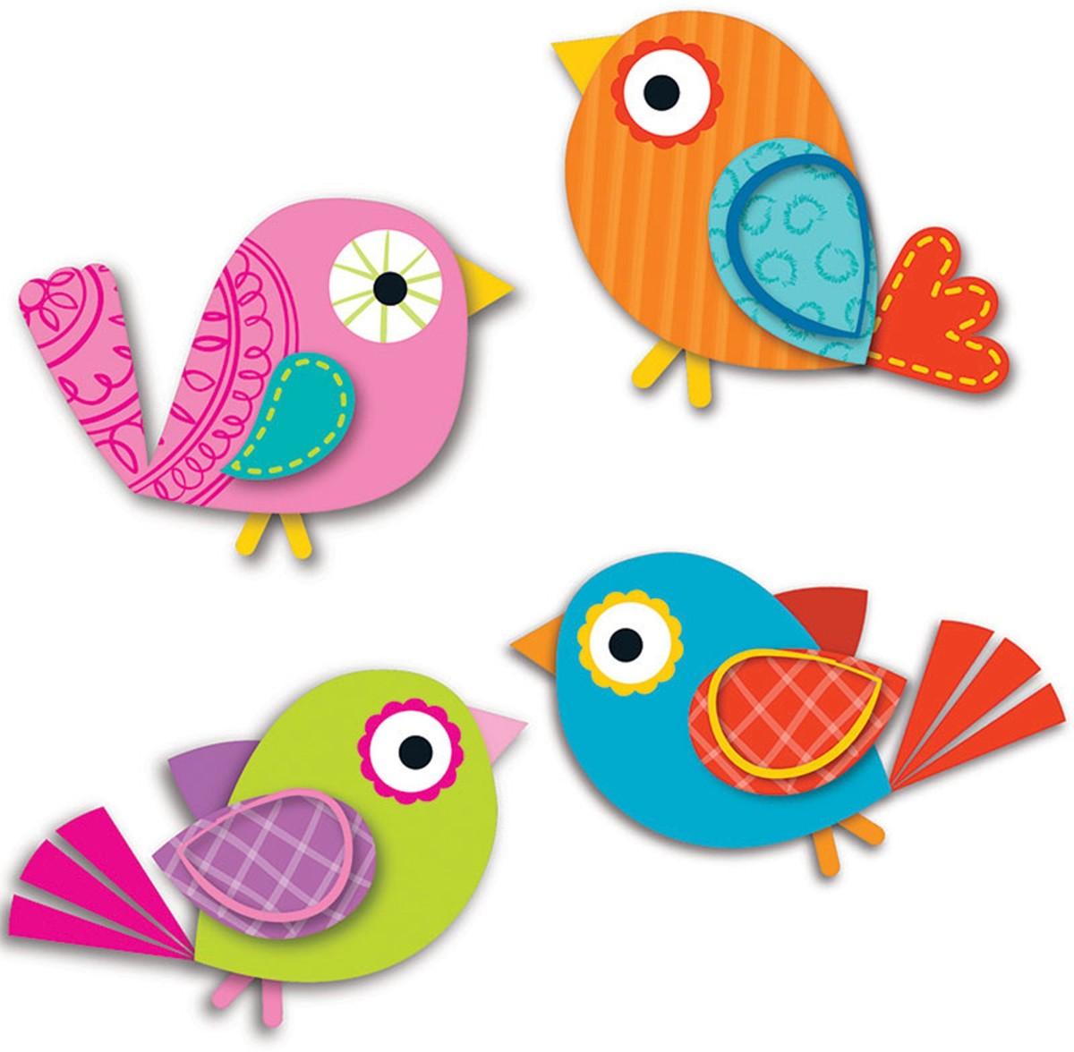 Boho Birds Cut Outs Cd 120194 Carson Dellosa Accents K12 School