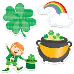 St Patricks Day Cutout Gr Pk-5, CD-120222