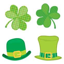 St Patricks Day Mini Cutout Gr Pk-5, CD-120223