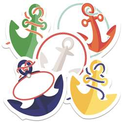 Anchors Mini Cutout Gr Pk-5, CD-120522