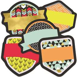 Badges Mini Asst Cutout Gr K-5, CD-120534