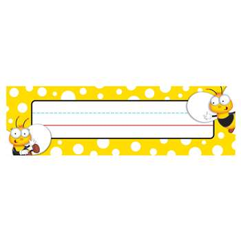 Buzz-Worthy Bees Nameplates, CD-122033