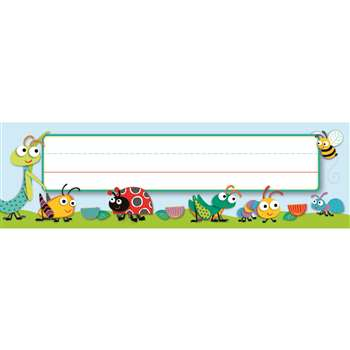 Shop Buggy For Bugs Deskplates - Cd-122118 By Carson Dellosa