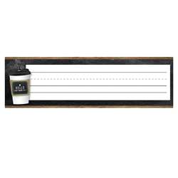 Industrial Cafe Nameplates, CD-122140