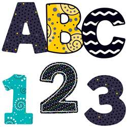 Shop Black White & Bold Ez Letters 3 Inch - Cd-130058 By Carson Dellosa