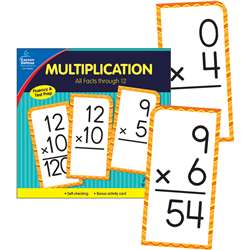 Multiplication Facts Thru 12 Flash Cards, CD-134055