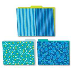 Shop Bubbly Blues Folders 6Pk - Cd-136002 By Carson Dellosa