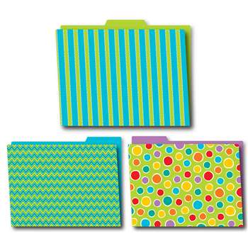 Shop Fresh Sorbet Folders 6Pk - Cd-136004 By Carson Dellosa