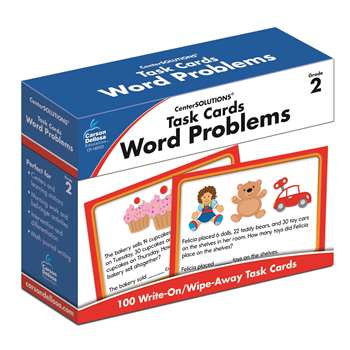 Task Cards Word Problems Gr 2, CD-140102