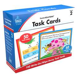 Center Solutions Task Cards Gr 2 By Carson Dellosa