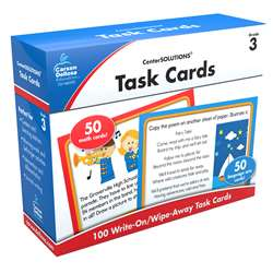 Center Solutions Task Cards Gr 3 By Carson Dellosa