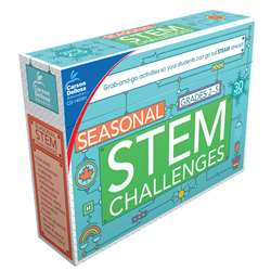 Seasonal Stem Challenges Learning Cards, CD-140351