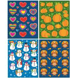 Seasonal Shape Stickers Set By Carson Dellosa