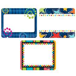 Designer Nametag Set, CD-144275